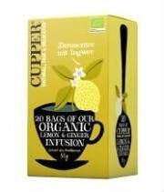 Cupper Zitronentee mit Ingwer (20 Beutel)