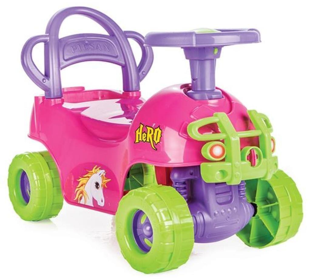 Pilsan Kinderauto Hero rosa 2 in 1