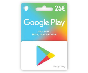 Spare heute: Google Play Card ab 7,7 € Preisvergleich bei