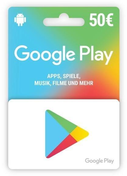 Google Play Card 50€