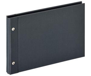Lino Schraubenalbum 27,5x19 cm schwarz