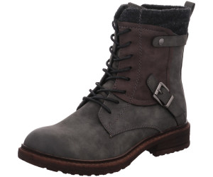 Rieker 94742 Schuhe Damen Stiefel Stiefeletten Ankle Boots Warmfutter, Schuhgröße:42 EU, Farbe:Grau