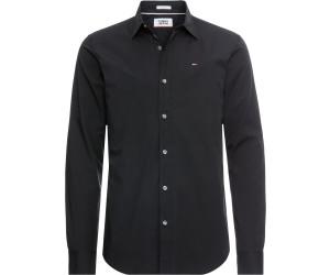 Tommy Hilfiger Stretch Slim Fit Shirt (DM0DM04405-078) black thumbnail