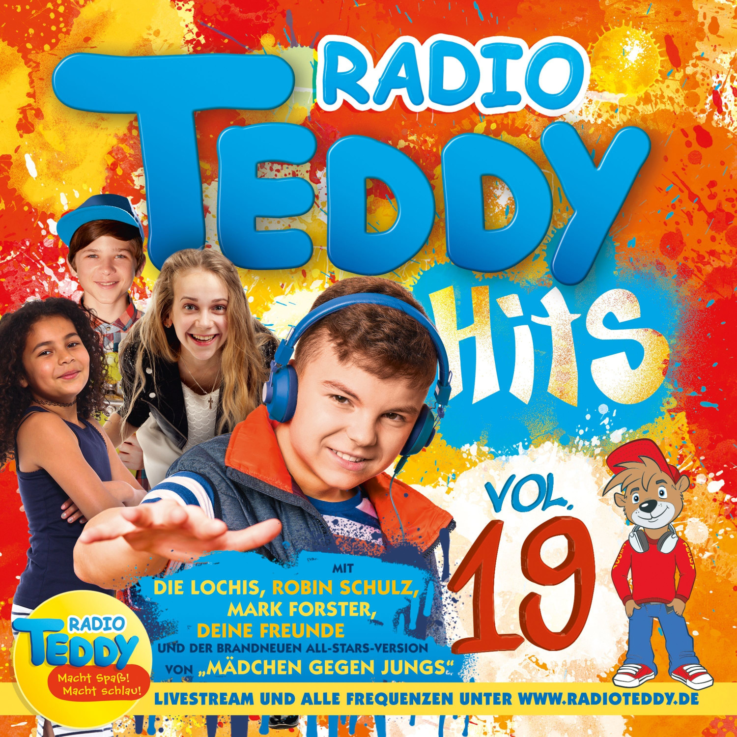 Radio Teddy Hits Vol. 19 (CD)
