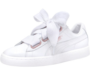 Buy Puma Basket Heart Leather white rose gold from £23.83 – Compare ... a7ccd97d2