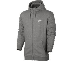 Nike Sportswear Zip Hoodie NSW Hoodie FZ FT Club BlackWhite