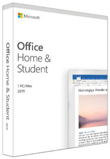 Microsoft Office 2019 Home & Student (FR) (PKC)