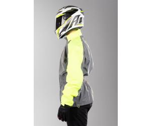 IXS SILVER REFLEX-ST Regenhose Motorrad fluo gelb silber