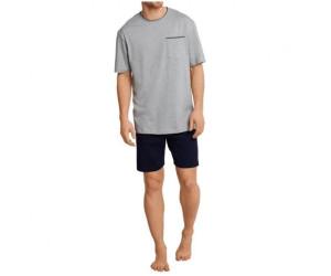 340b5c004a3dce Seidensticker Basic Line Pyjama grau (162691-202) ab 25,47 ...