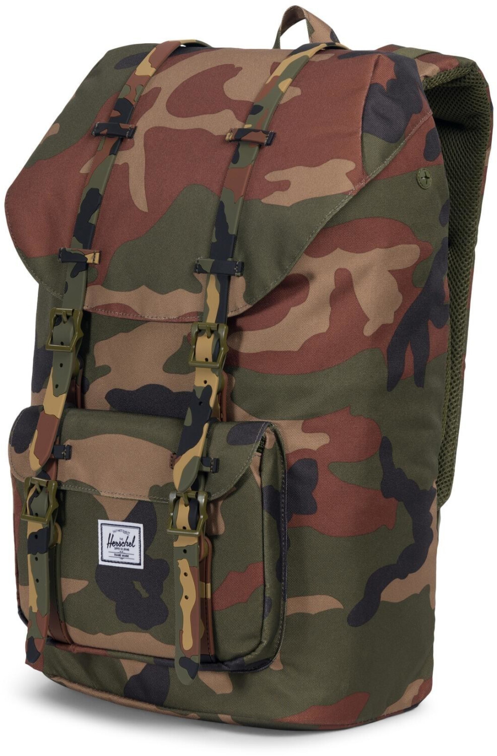 Herschel Little America Backpack woodland camo/printed rubber