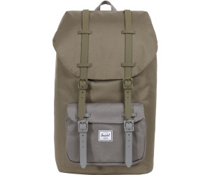 cb6bd36183b9 Herschel Little America Backpack ivy green smoked pearl ab 83