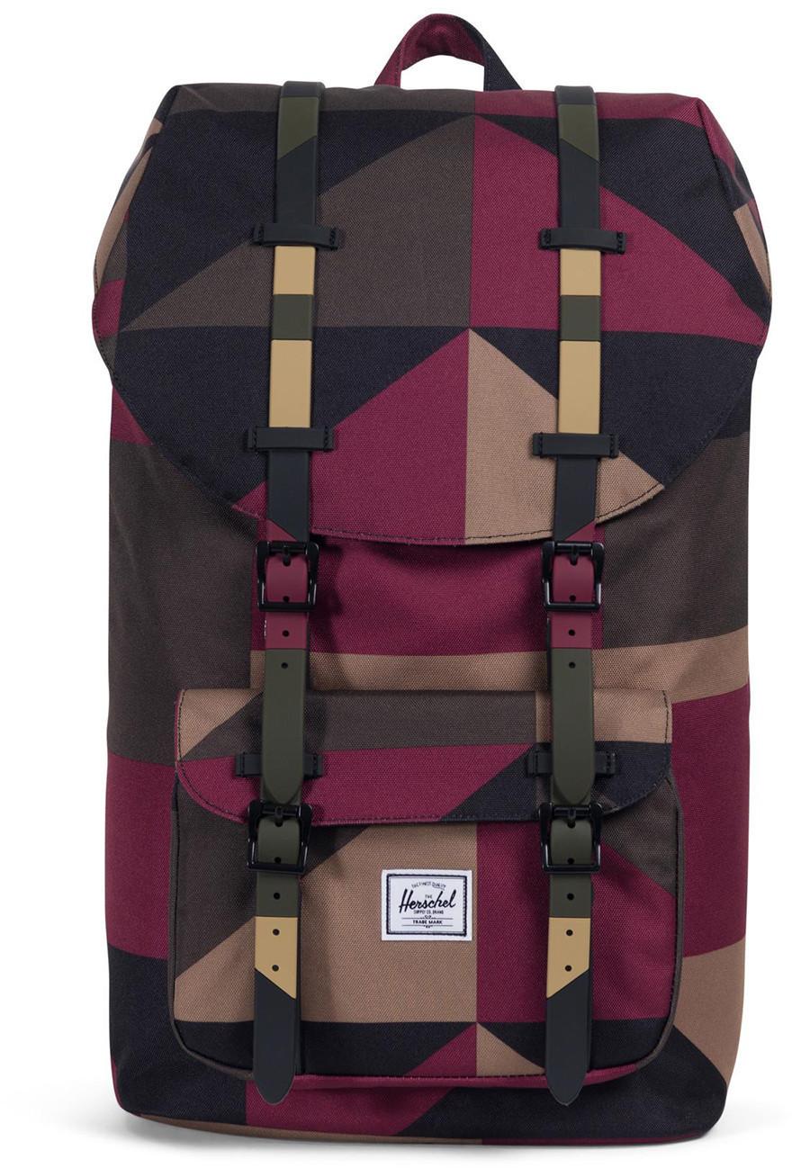 Herschel Little America Backpack windsor wine/frontier geo