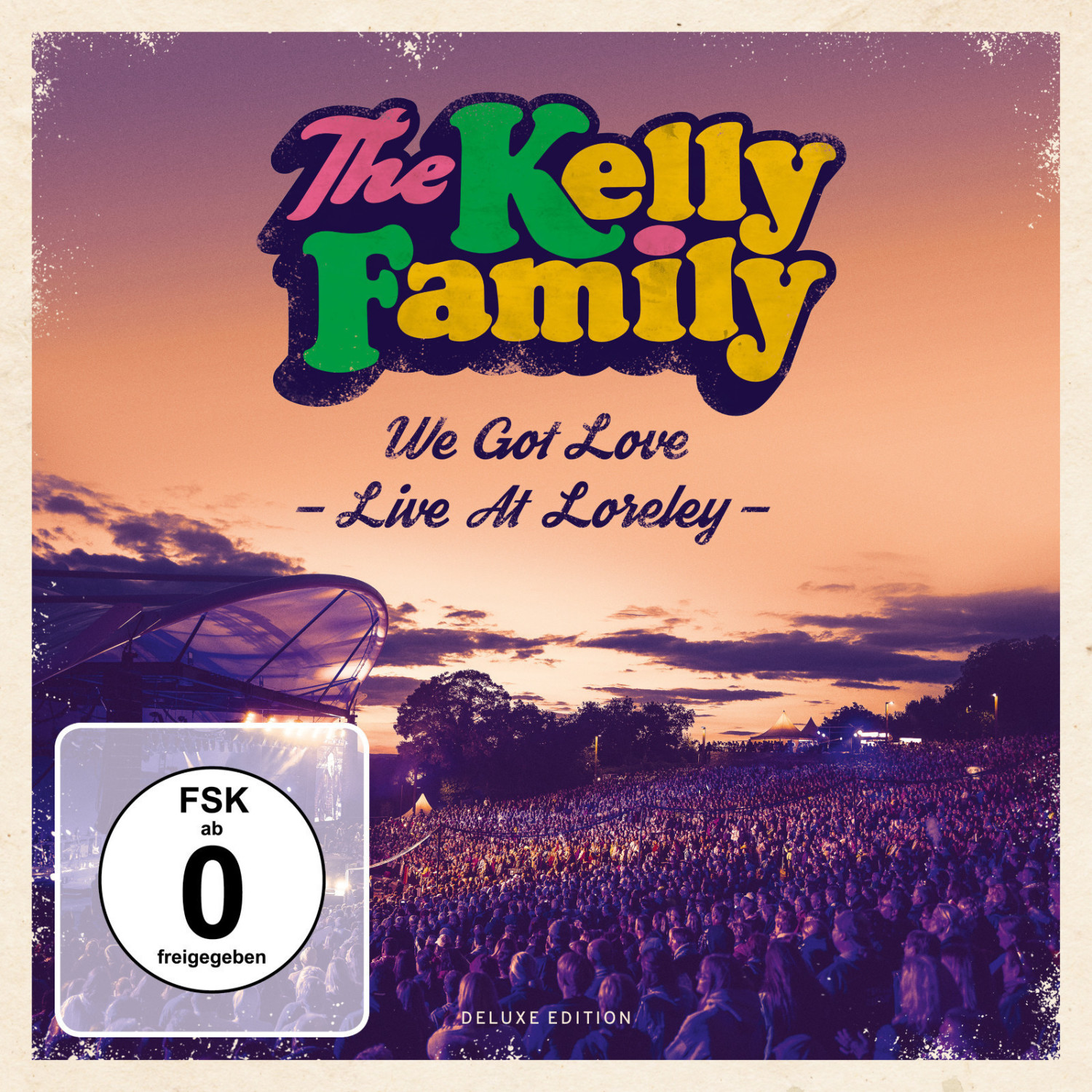 The Kelly Family - We got Love - Live at Loreley (Deluxe Edition) (CD + DVD)