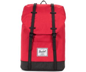 e7d570a3c72 Herschel Retreat Backpack barbados cherry crosshatch black crosshatch black  rubber. Herschel Retreat Backpack