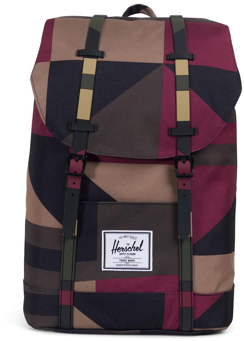 Herschel Retreat Backpack windsor wine/frontier geo