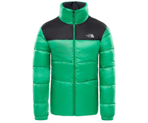 Buy The North Face Nuptse III Jacket primary green tnf black from ... eb17b2222