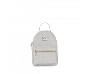 fe558478fab Buy Herschel Nova Backpack Mini light grey crosshatch from £46.61 ...