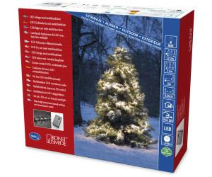 Konstsmide Weihnachtsbeleuchtung.Konstsmide Micro Led Bueschellichterkette Warmweiß Schwarz 3863 100