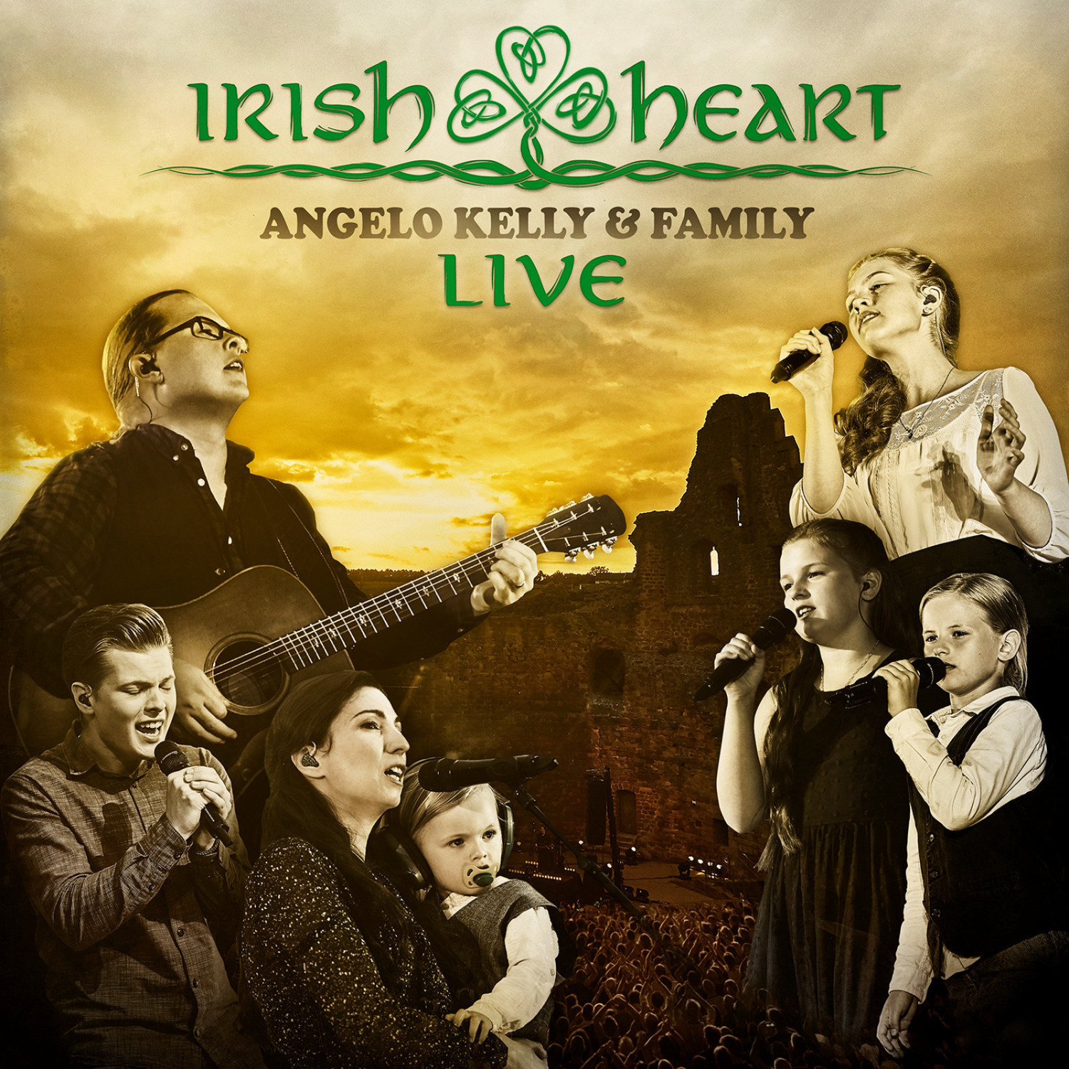 Angelo Kelly & Family - Irish Heart Live (CD + DVD)