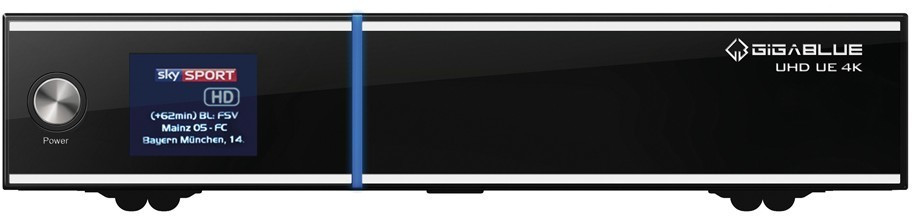 Image of GigaBlue UHD UE 4K 2xDVB-S2 FBC + DVB-S2X PVR ready