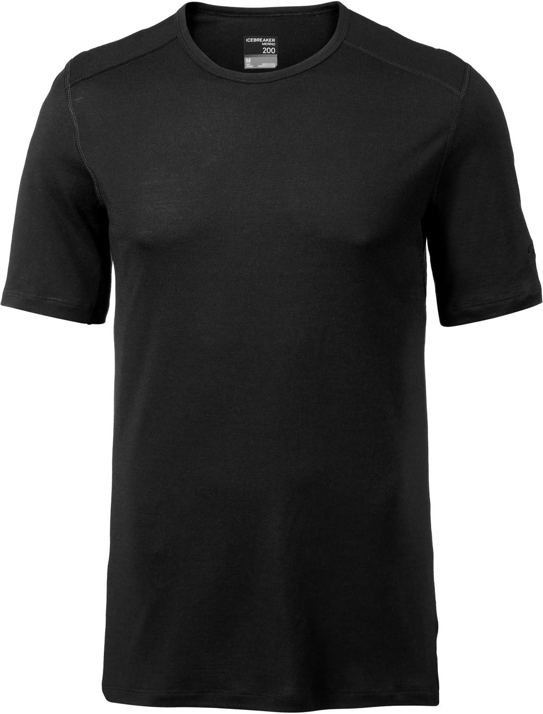 Icebreaker 200 Oasis Short Sleeve Crewe Men (104509) black