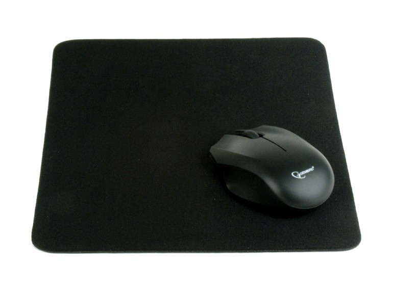 Image of Gembird Black Cloth Mouse Pad (MP-A1B1-BLACK)