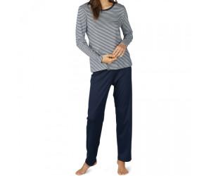 Online bestellen lässige Schuhe neueste Kollektion Mey Paula Pyjamas Long night blue ab 63,01 ...