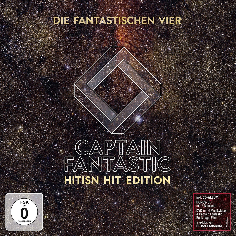 #Die Fantastischen Vier – Captain Fantastic (Hitisn Hit Edition) (CD + DVD)#