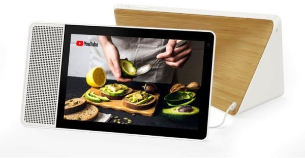 Lenovo Smart Display 10 Multimedia-Lautsprecher bambus Euronics XXL Durmeier