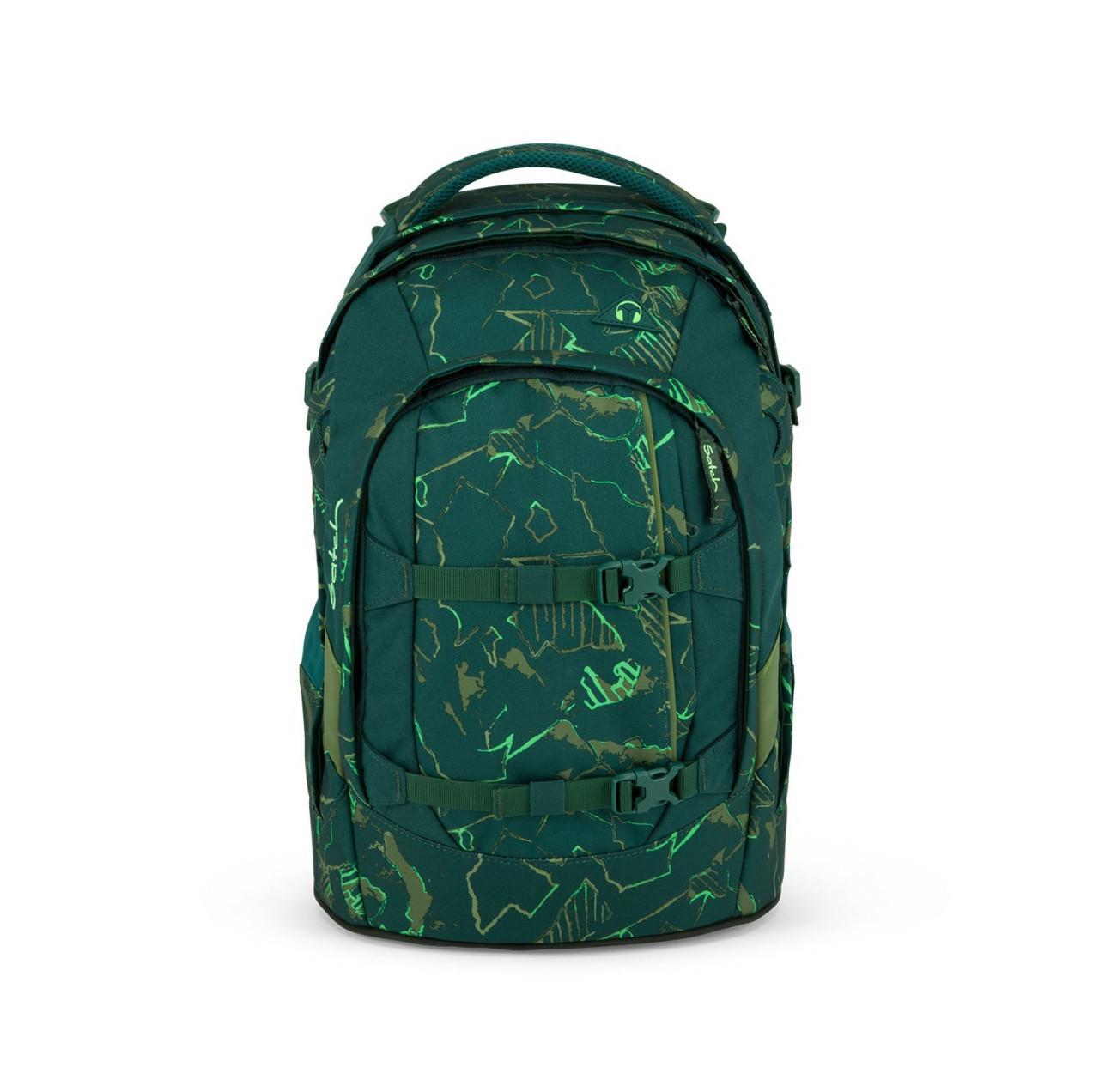 ergobag Satch Pack Green Compass