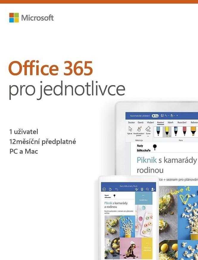 Microsoft Office 365 Personal 2019 (1 Jahr) (EN) (PKC)