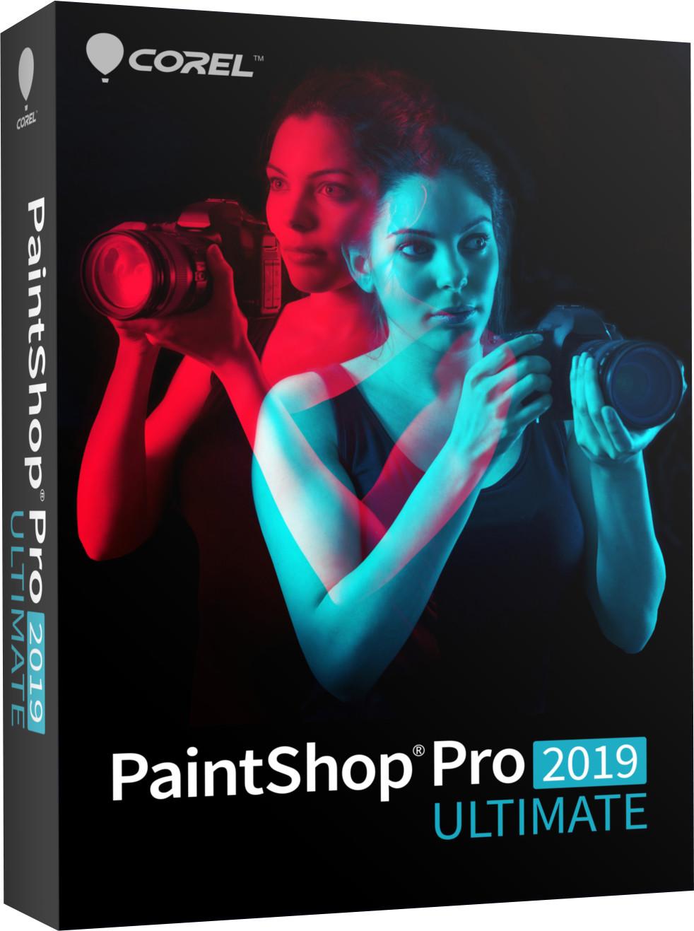 Image of Corel PaintShop Pro 2019 Ultimate