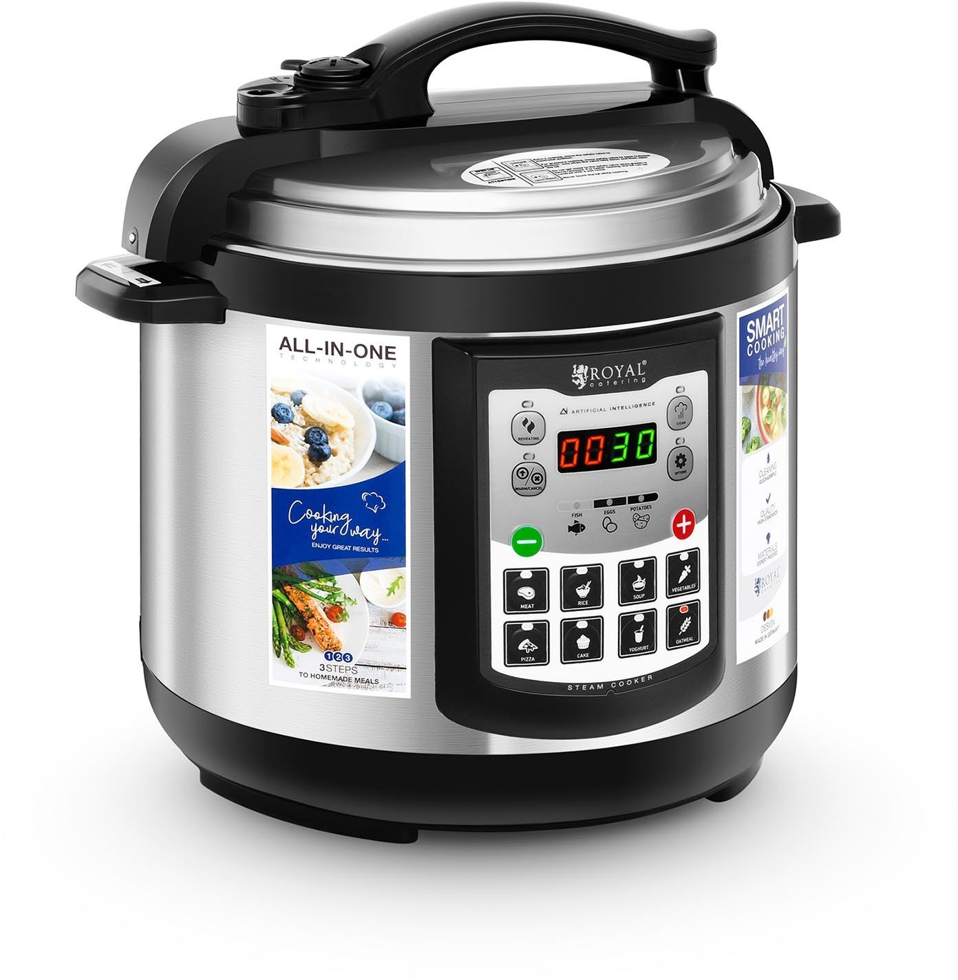 Image of Catering Royal Multifunctional Cooker 4 ltr.