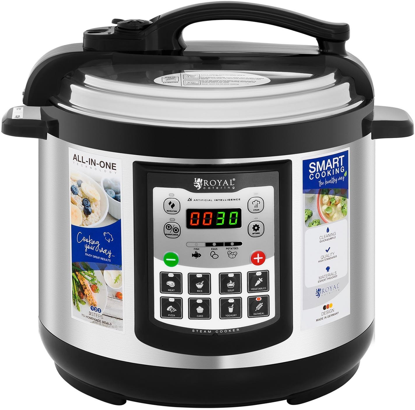 Image of Catering Royal Multifunctional Cooker 5 ltr.