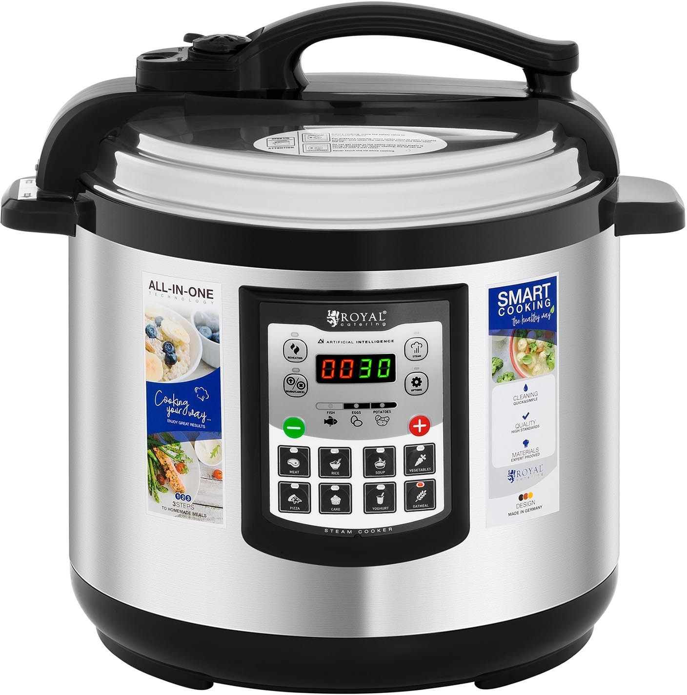 Image of Catering Royal Multifunctional Cooker 8 ltr.