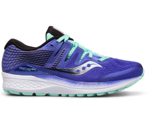 cf31f556248 Buy Saucony Ride ISO Violet Black Aqua from £92.99 – Compare Prices ...