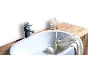 miliboo nivan waschbecken waschkommode hellbraun 16180. Black Bedroom Furniture Sets. Home Design Ideas