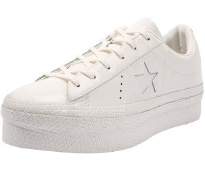 ea49a0763705 Converse Converse One Star Platform Patented 90s Leather Low Top vintage  white vintage white