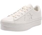 330da351fcb Converse Converse One Star Platform Patented 90s Leather Low Top vintage  white vintage white