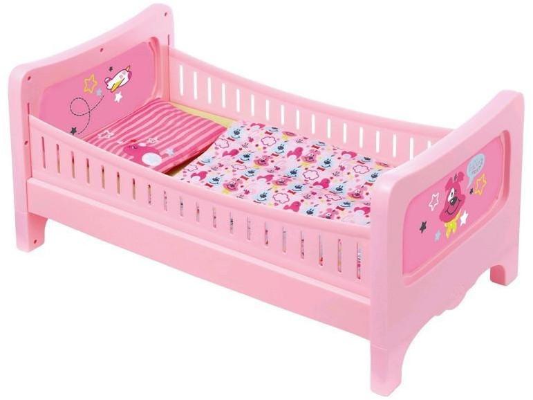 BABY born Bett mit Kuschelbettzeug
