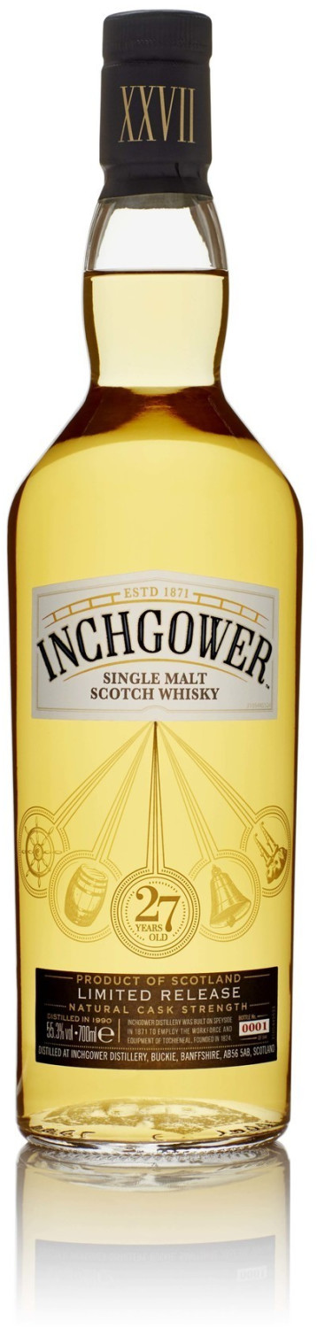 Inchgower 27 Years Special Release 2018 0,7l 55,3%