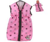 Kleidung & Accessoires Babypuppen & Zubehör Grau-Weiß Bayer Chic 2000 Puppenschlafsack Sternchen