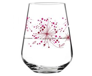 Aqua e Vino Design Wasser und Weinglas