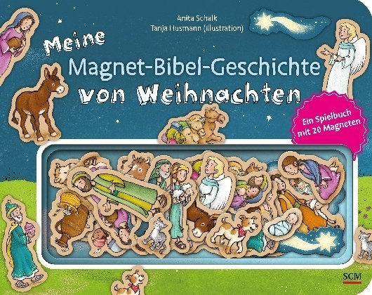 #Meine Magnet-Bibel-Geschichte von Weihnachten#