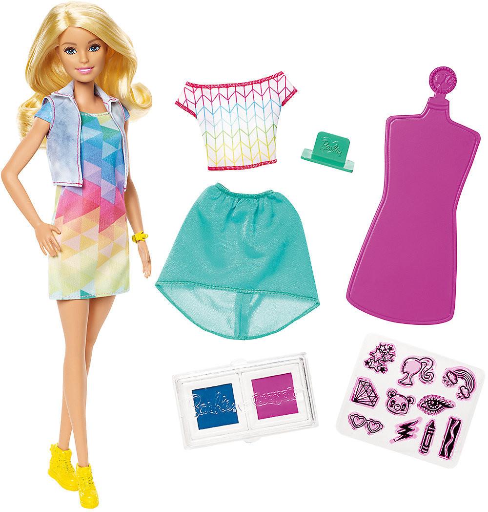 Mattel Barbie loves Crayola - Stamp 'n Style
