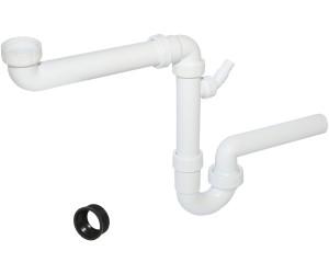 HAAS Spülen-Kugelgelenksiphon 1 ½/'/' Raumsparer Raumsparsiphon DN40 DN50 Spüle