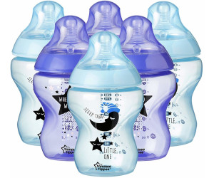 ef6a74b40 Tommee Tippee Closer to Nature Decorated Bottles 260ml 6-pack desde ...
