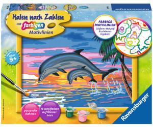 Ravensburger Malen Nach Zahlen Paradies Der Delfine Ab 1099