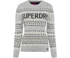 sports shoes 8d4c1 f1cbf Superdry Cleveland Strickpullover mit Fairislemuster ab 35 ...