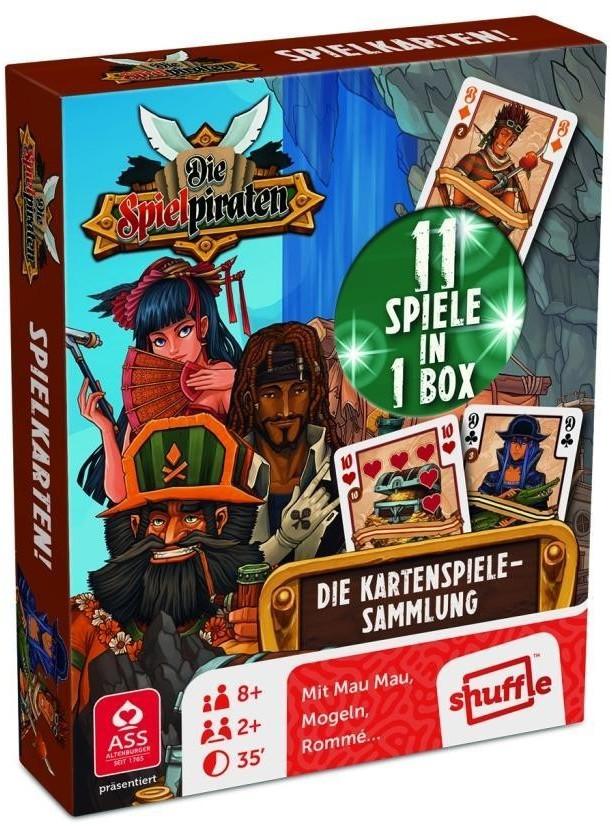 Die Spielpiraten - Die Kartenspiele-Sammlung